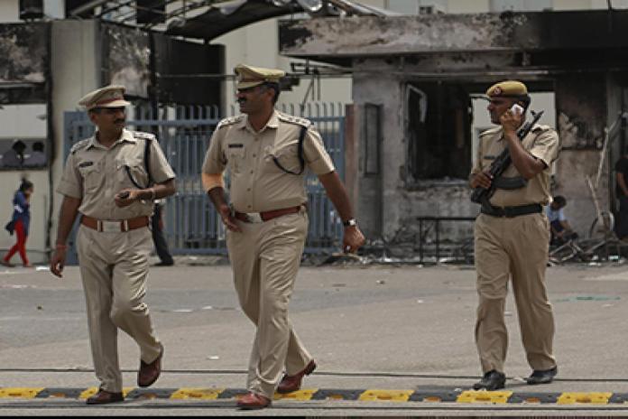 पुन्हाना पुलिस महंत रामदास