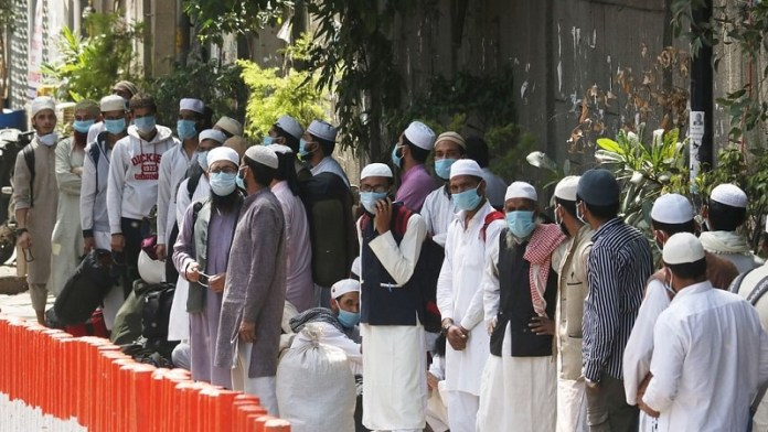 दिल्ली सरकार, तबलीगी जमात