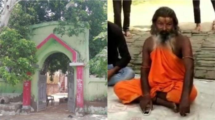 राधा कृष्ण मंदिर और मंदिर के पुजारी