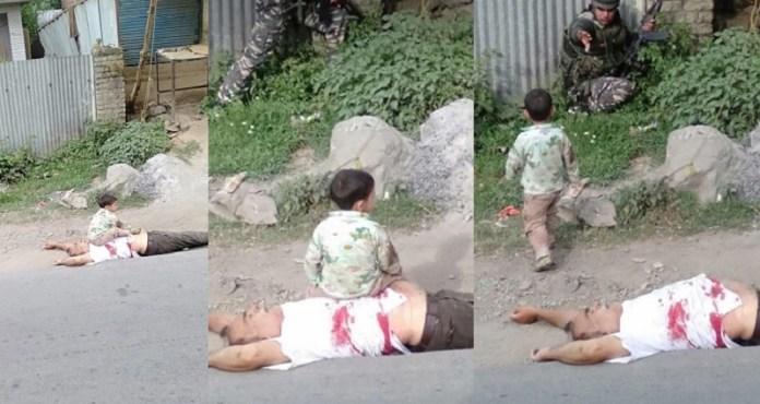 बच्चे, आतंकियों, हत्या, CRPF