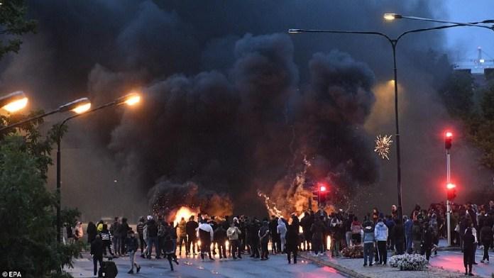 स्वीडन, कुरान, दंगे