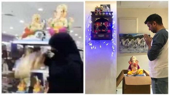 दिव्य पांडे, बहरीन, गणेश प्रतिमा