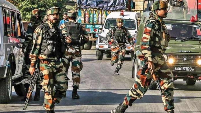 जम्मू कश्मीर पुलिस की कार्रवाई