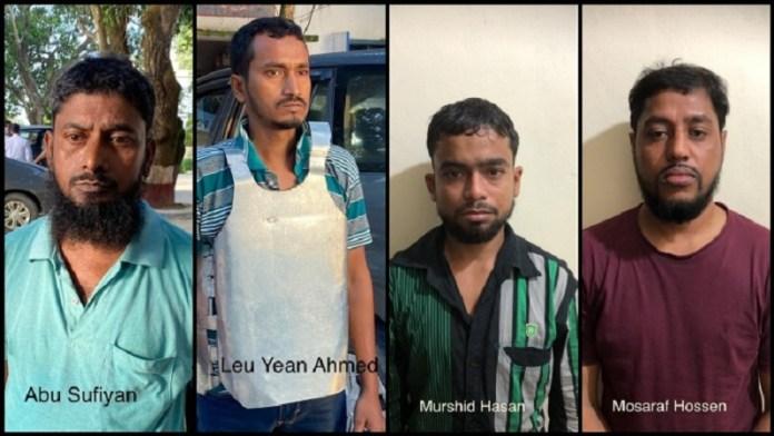 पकड़े गए अल-कायदा आतंकी