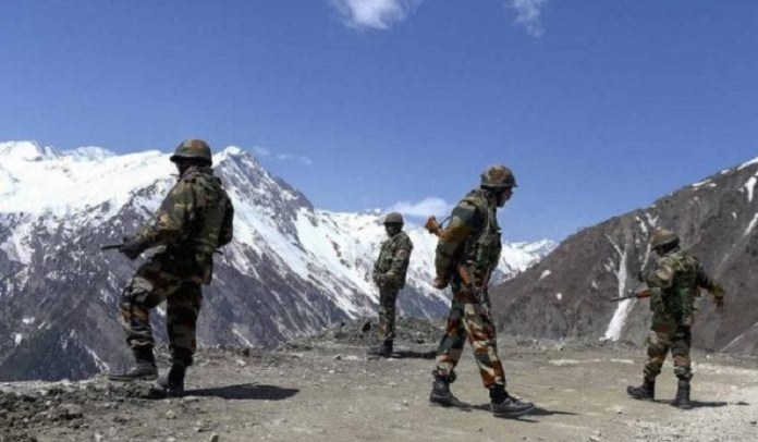 भारतीय सेना, चीन, LAC