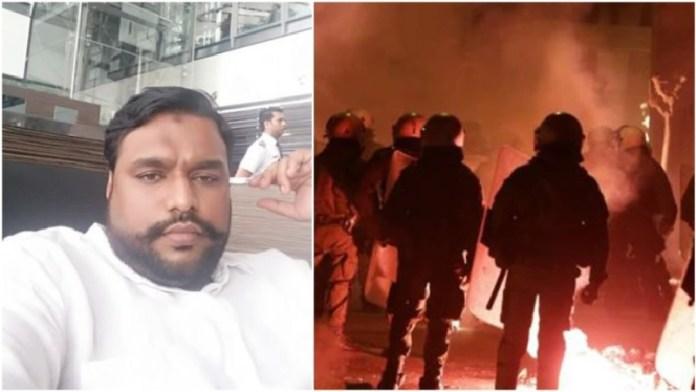 मुजम्मिल पाशा बेंगलुरु दंगा