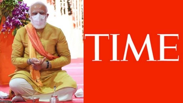 Time, नरेंद्र मोदी, भारत