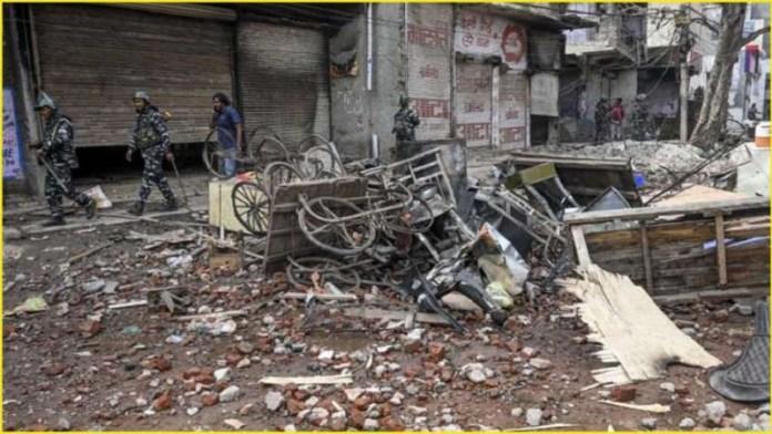 दिल्ली दंगा विभाजन कोर्ट
