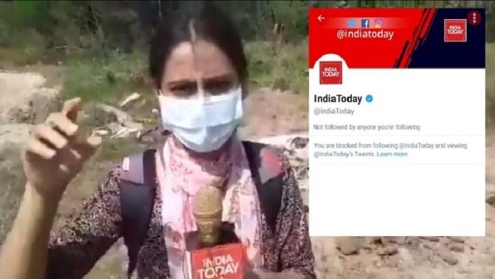 इंडिया टुडे की पत्रकार तनुश्री