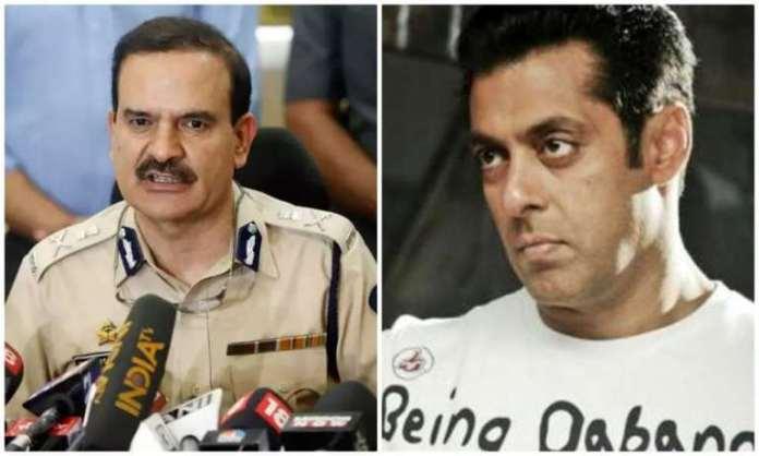 जब बांद्रा पुलिस ने सलमान को शहर के बाहर बताया तब वह परमबीर सिंह के साथ पार्टी कर रहे थे