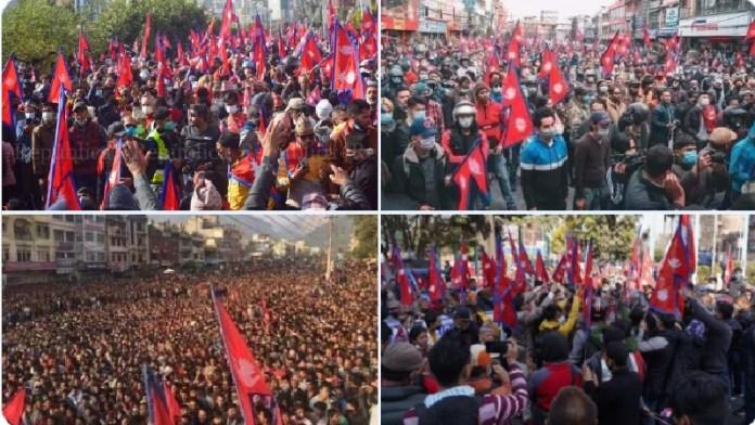 नेपाल, हिन्दू राष्ट्र, राजशाही