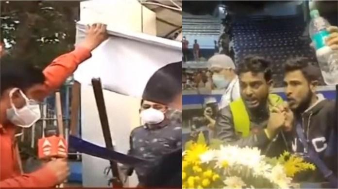 बंगाल में मजदूरों का विरोध