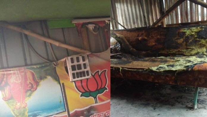 बंगाल में बीजेपी कार्यकर्ताओं पर हमला