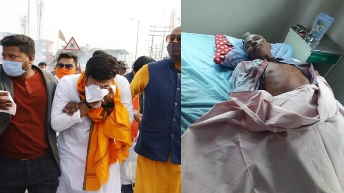 पश्चिम बंगाल में बीजेपी कार्यकर्ताओं पर हमला