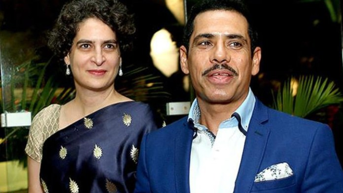 रॉबर्ट और प्रियंका वाड्रा