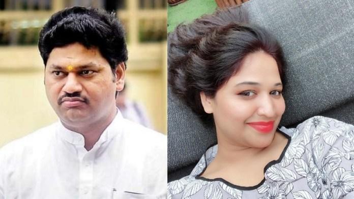 धनंजय मुंडे, रेप, रेनू शर्मा