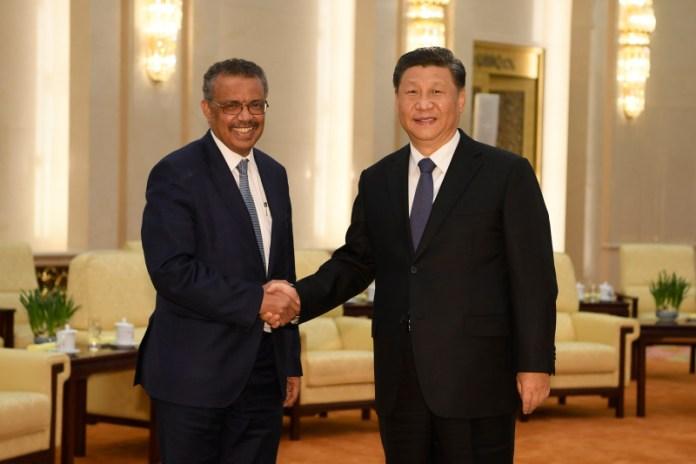 चीन-डब्लूएचओ