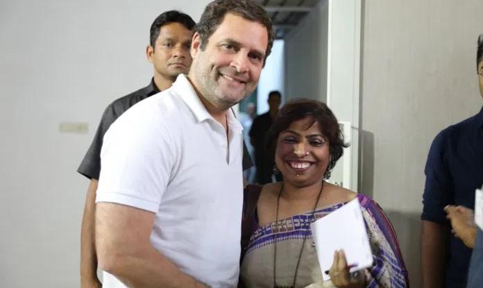 राहुल गाँधी दलित शादी