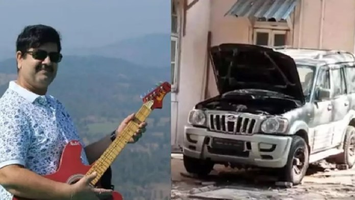 मनसुख हिरेन, अंबानी कार