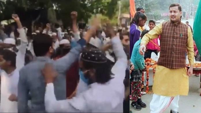 यमुनानगर, महंत नरसिंहानंद, मुस्लिम भीड़, हिन्दू