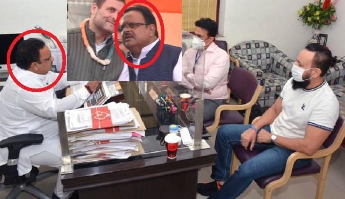 राजस्थान मंत्री सलमान बॉडीगार्ड