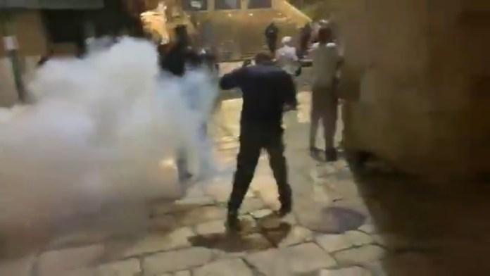 अल-अक़्सा मस्जिद, इजरायल, हमला