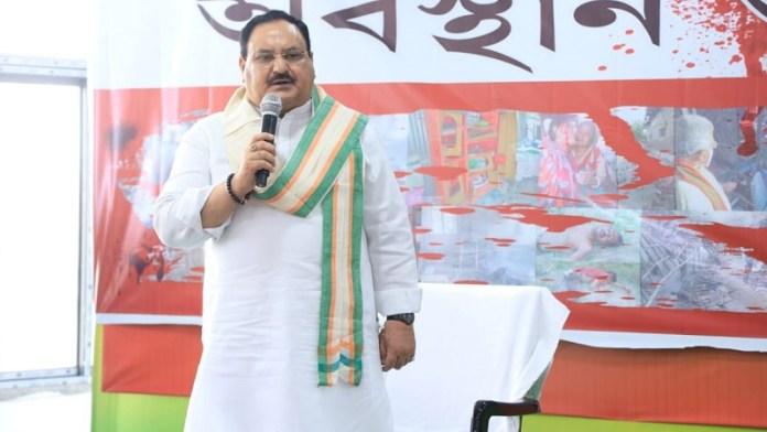 जेपी नड्डा, बंगाल हिंसा