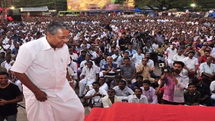 पिनराई विजयन, शपथग्रहण, केरल