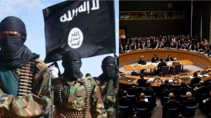 ISIS आतंकवादी संगठन UNSC