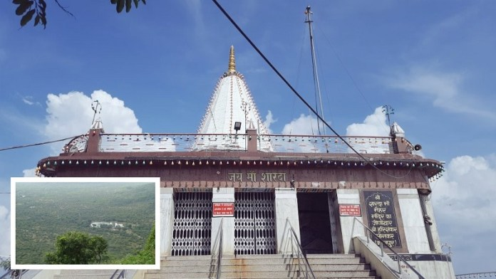 मैहर का शारदा माता मंदिर