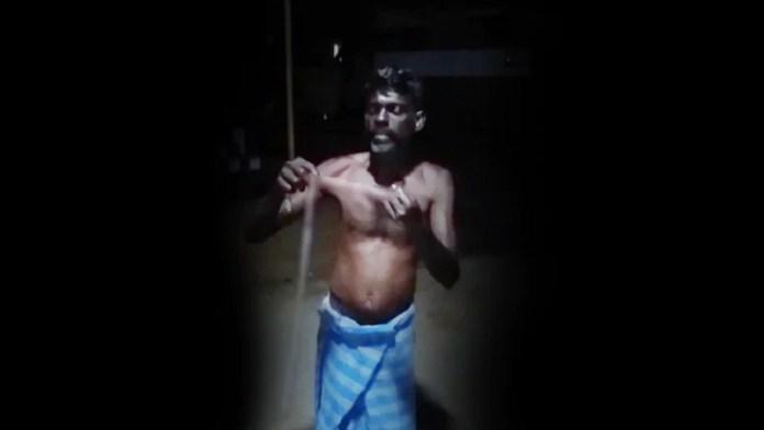 तमिलनाडु में साँप को खाने का मामला