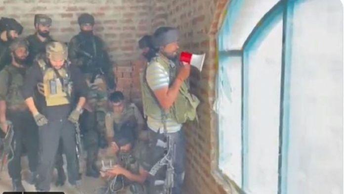 जम्मू-कश्मीर सुरक्षाबल आतंकी मुठभेड़
