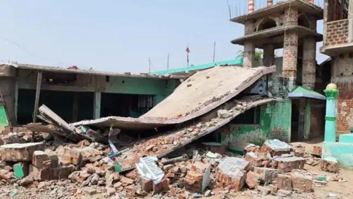 बिहार मदरसा बम विस्फोट