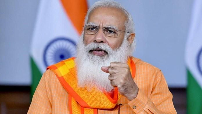 संयुक्त राष्ट्र पीएम मोदी भारत