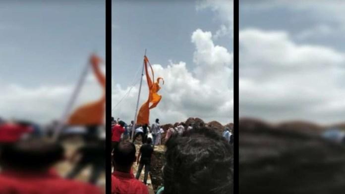 राजस्थान रामकेश मीणा भगवा ध्वज फाड़ा