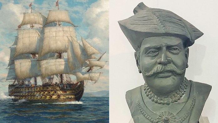 कान्होजी आंग्रे, मराठा, नौसेना