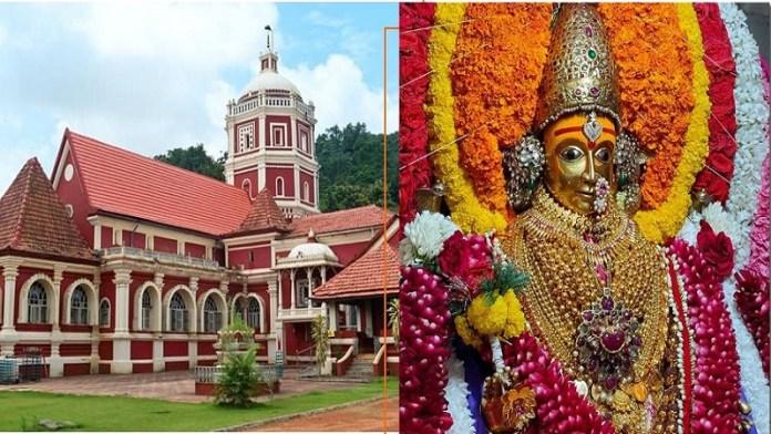 गोवा शांतादुर्गा मंदिर