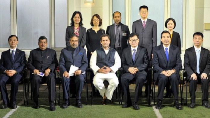 राहुल गाँधी, चीन