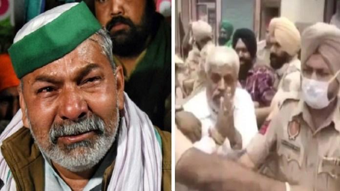 राकेश टिकैत की सरकार को धमकी भाजपा नेताओं पर किसानों का हमला