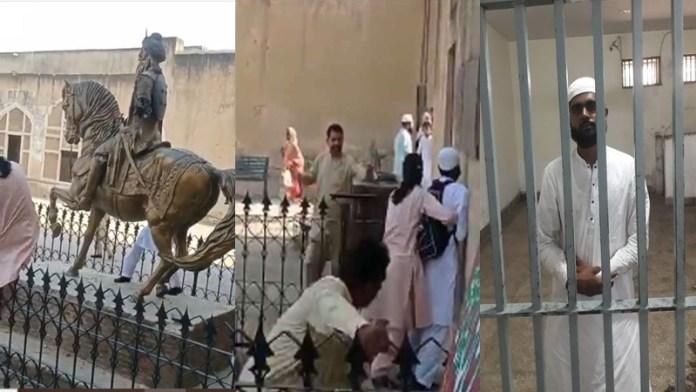 पाकिस्तान में तीसरी बार तोड़ी गई महाराजा रणजीत सिंह की प्रतिमा