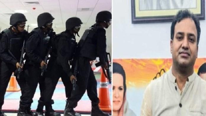 कॉन्ग्रेस के शाहनवाज आलम ने किया देवबंद में ATS कमांडो सेंटर का विरोध