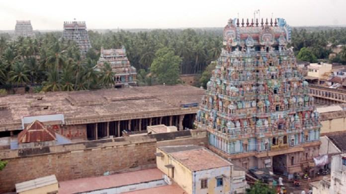जम्बुकेश्वर मंदिर, तिरुचिरापल्ली, तमिलनाडु