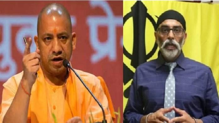 खालिस्तान समर्थक SFJ की UP के CM योगी आदित्यनाथ को धमकी
