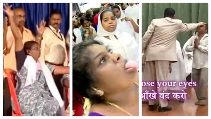 ईसाई धर्मांतरण वीडियो