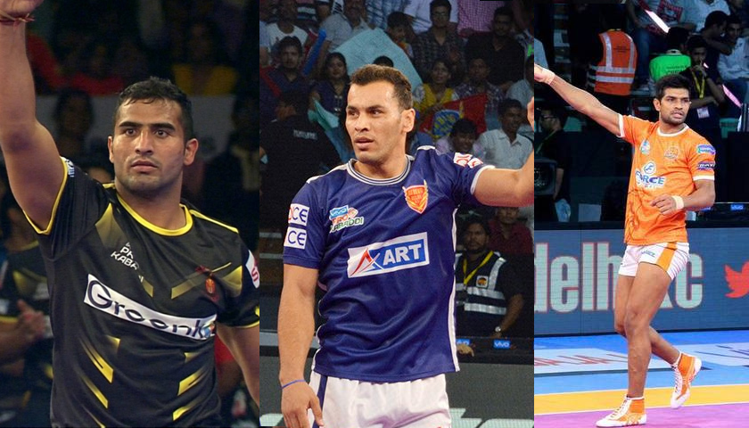 Top 10 All rounders of pro kabaddi