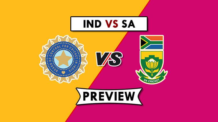 IND vs SA Dream11 Prediction