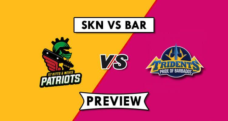 SKN vs BAR Dream11 Prediction