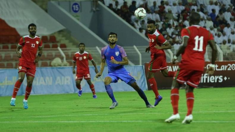 India vs Oman Football Match Report