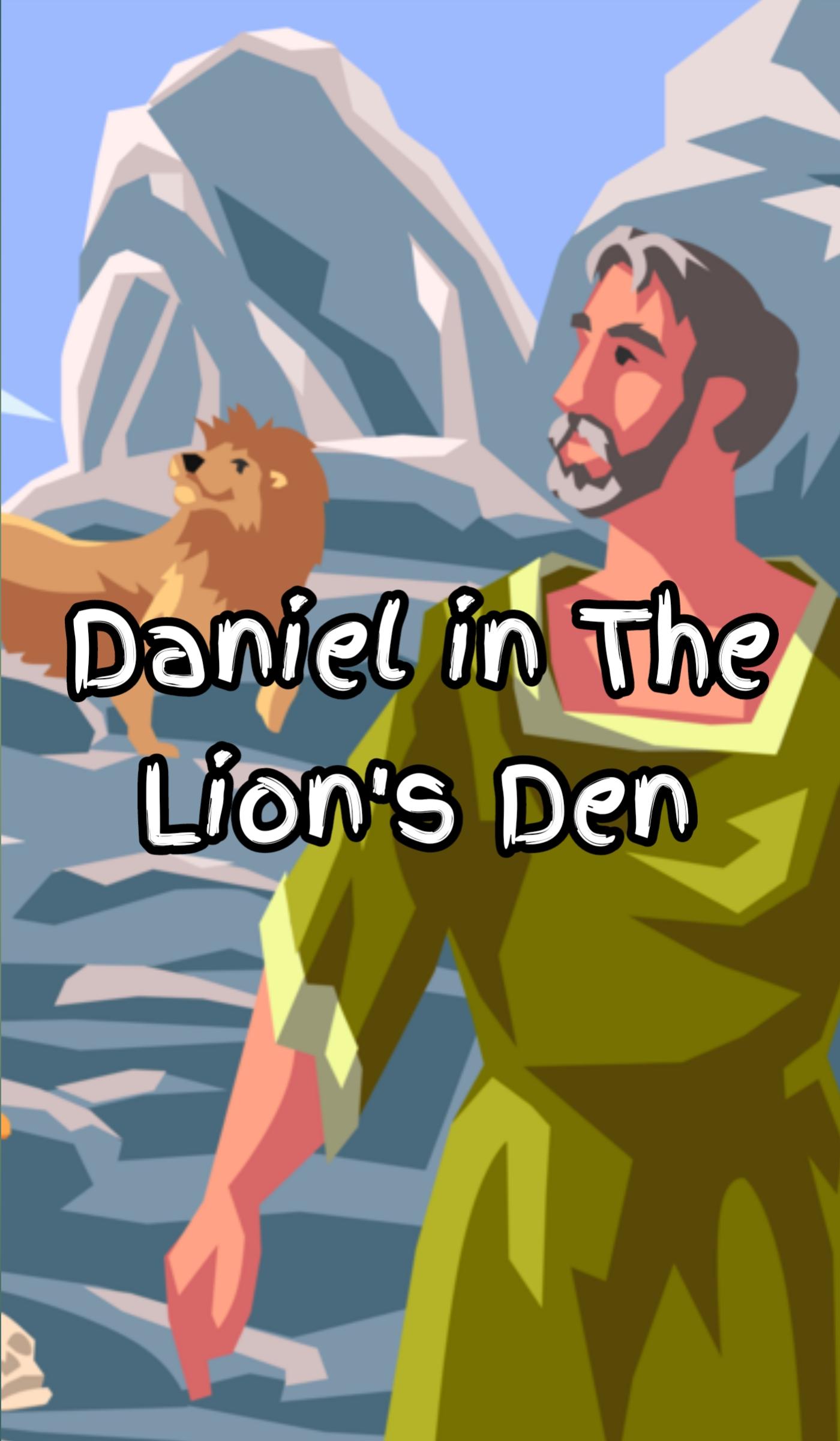 Daniel in Lion's Den Bible Story in Hindi