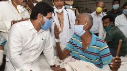 Jagan Mohan Reddy meeting Visakhapatnam tragedy